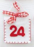 Adwentu kalendarz Zdjęcia Stock