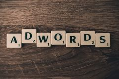 Adwords Marketing Royalty Free Stock Images