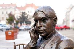 Ady Endre-Bronzeskulptur Stockbilder