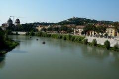 Adyga-Fluss in Verona, Italien Stockfoto