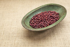 Adzuki beans Royalty Free Stock Photo