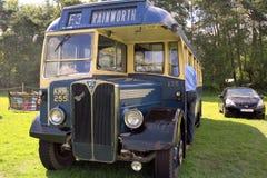 AEC豪华III 1949唯一分层装置公共汽车 图库摄影