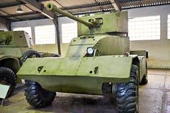 AEC británico Mk II del vehículo ligero blindado Foto de archivo