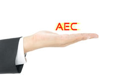 AEC concept Royalty Free Stock Photo
