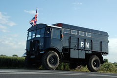 The AEC Matador Normandy 2014. The AEC Matador 2014, anniversary D-Day stock photos