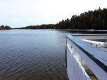 Aechipelago vatten Royaltyfria Bilder