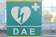AED Stockfoto