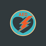 AED Automated External Defibrillator Stock Photography