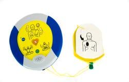 aed automatiserad defibrillatorexternal Arkivfoto