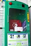 AED defibrillator Στοκ Φωτογραφίες