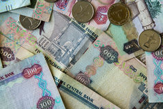 AED Dirhams Stock Photo