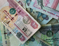AED Dirhams Royalty Free Stock Photo