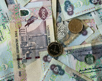 AED Dirhams Stock Images