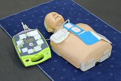 AED dummy Stock Photos