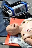 AED dummy - Medical doll Stock Photography