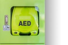 AED externo automatizado del defibrillator Imágenes de archivo libres de regalías