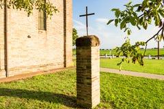 Aedicula votivo dedicado a Jesus Christ Imágenes de archivo libres de regalías