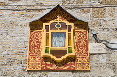 Aedicule votivo San Severo Puglia Italia Imágenes de archivo libres de regalías