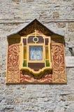 Aedicule votivo San Severo Puglia Italia Foto de archivo libre de regalías