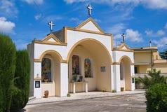 Aedicule votivo. Specchia. Puglia. Italia. Fotos de archivo