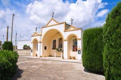 Aedicule votivo. Specchia. Puglia. Italia. Fotografía de archivo libre de regalías