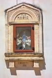 Aedicule votivo Turi La Puglia L'Italia Immagini Stock Libere da Diritti