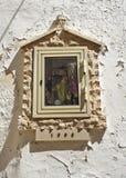 Aedicule votivo Turi Puglia Italia Fotografía de archivo libre de regalías
