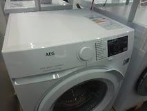 Aeg洗衣机 图库摄影