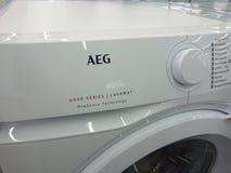 Aeg-Waschmaschine stockfotografie
