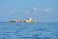 Aegadian-Inselstrand in Trapani Lizenzfreies Stockbild