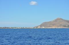 Aegadian-Inselstrand in Trapani Lizenzfreie Stockfotografie