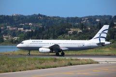Aegean Airlines Lizenzfreie Stockfotos