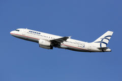 Aegean Airlines Airbus A320 Stock Photography