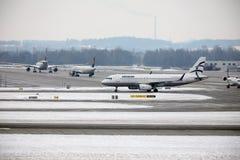 Aegean Airlines Airbus A320-200 SX-DGY Lizenzfreie Stockbilder