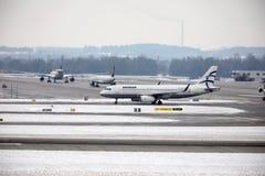 Aegean Airlines Airbus A320-200 SX-DGY Lizenzfreies Stockfoto