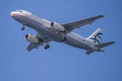 Aegean airlines, greece, airbus a320 Royalty Free Stock Image