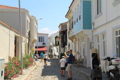 Aegean area - Bozcaada island Royalty Free Stock Photos
