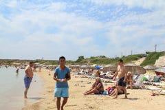 Aegean area - Tenedos island, Ayazma beach Stock Images