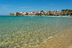Aegean beach Royalty Free Stock Photography