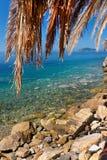 Aegean coast. Aegean Sea at Marmaris, Greece Stock Photos