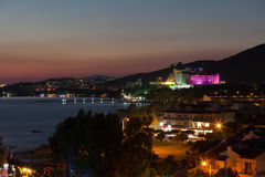 Aegean coast. Recreaiton area and beach Royalty Free Stock Photography
