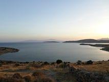 Aegean coast in Bodrum Stock Images