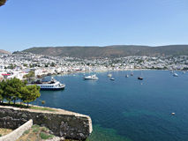 Aegean coast Bodrum Stock Images