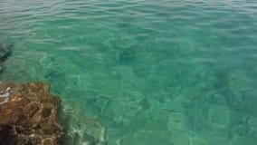 Aegean coast stock video footage