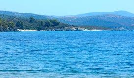 Aegean coast, Sithonia, Greece. Stock Images