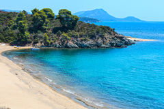 Aegean coast, Sithonia, Greece. Stock Photography