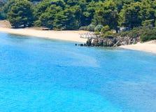 Aegean coast, Sithonia, Greece. Royalty Free Stock Photography