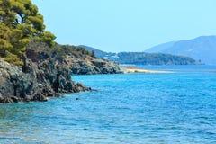 Aegean coast, Sithonia, Greece. Stock Photos