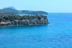 Aegean coast, Sithonia, Greece. Royalty Free Stock Photo