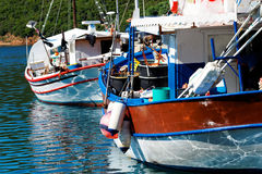 Aegean harbour Royalty Free Stock Photo